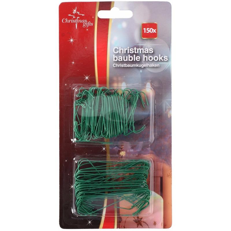 Kerstbal Haakjes Groen 2 Formaten 150 Stuks Kerst Megastore Schiedam